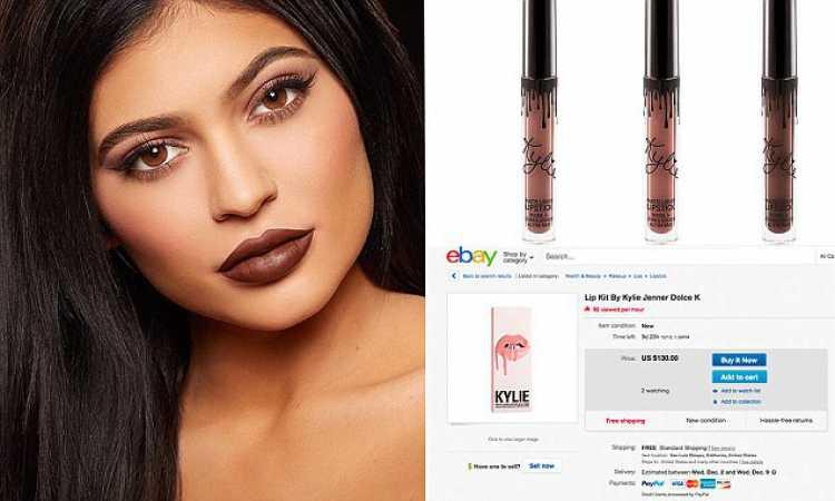 Kylie é a filha caçula das Kardashian