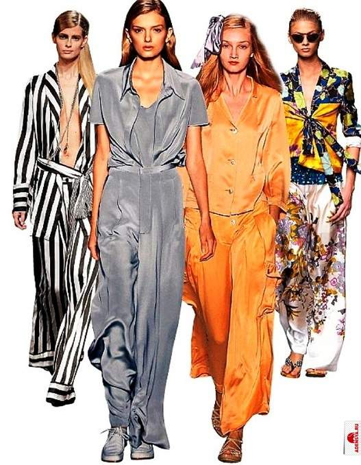 Pijama é uma aposta da moda