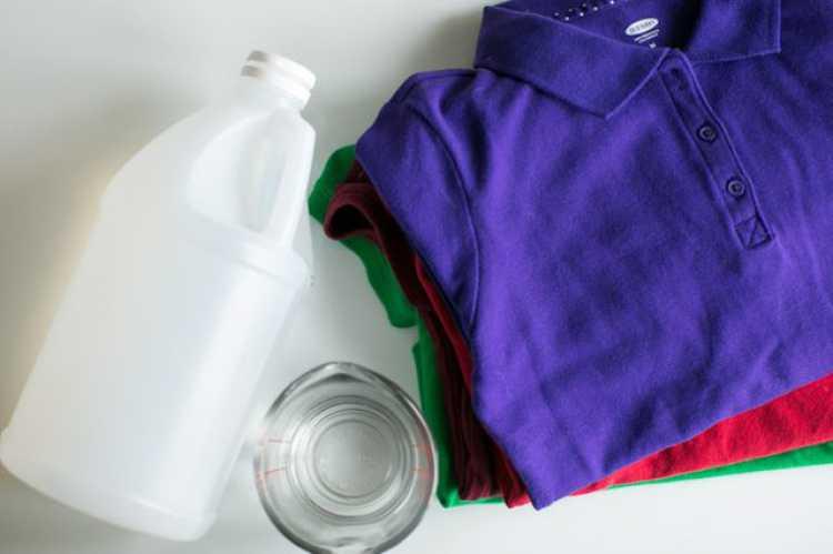 reviver as cores de suas roupas com a ajuda do vinagre