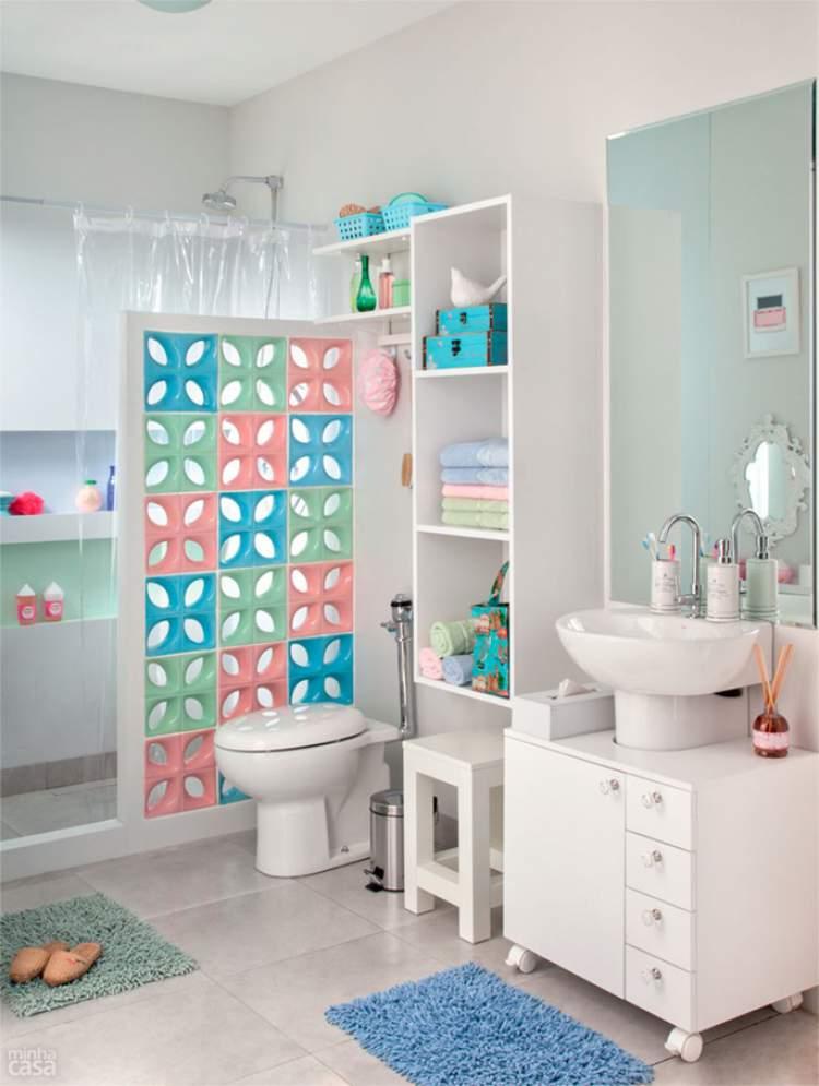 ideia para decoração de banheiro pequeno
