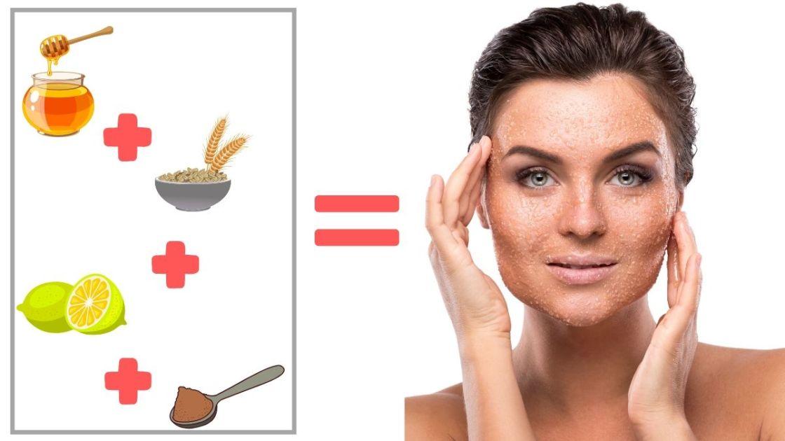 tratamentos caseiros para pele oleosa com mel e aveia