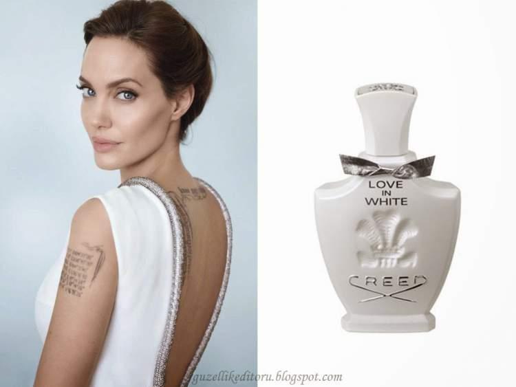 perfume predileto da Angelina Jolie