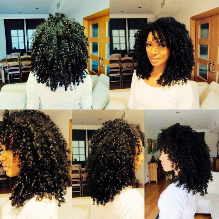 cortes de cabelo cacheado em camadas