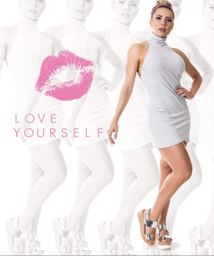 modelo Alessandra Batista do programa Legendarios