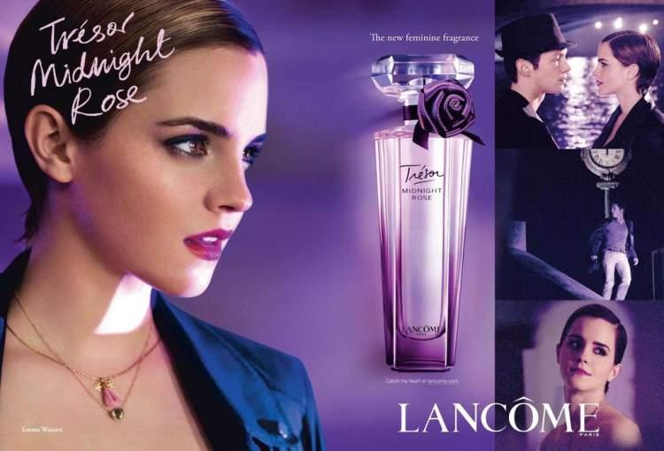 Trésor Midnight Rose de Lancôme é um dos melhores perfumes para mulheres românticas