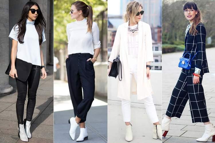 bota branca é uma mega tendência para outono/inverno 2017