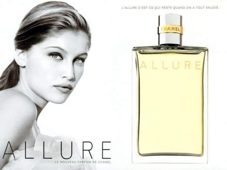 Allure Chanel é uma das fragrâncias mais vendidas do mundo