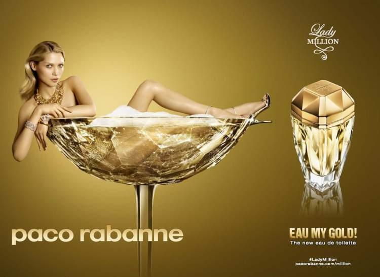 Lady Milion Eau My Gold by Paco Rabanne é um dos Perfumes Femininos Importados Mais Vendidos