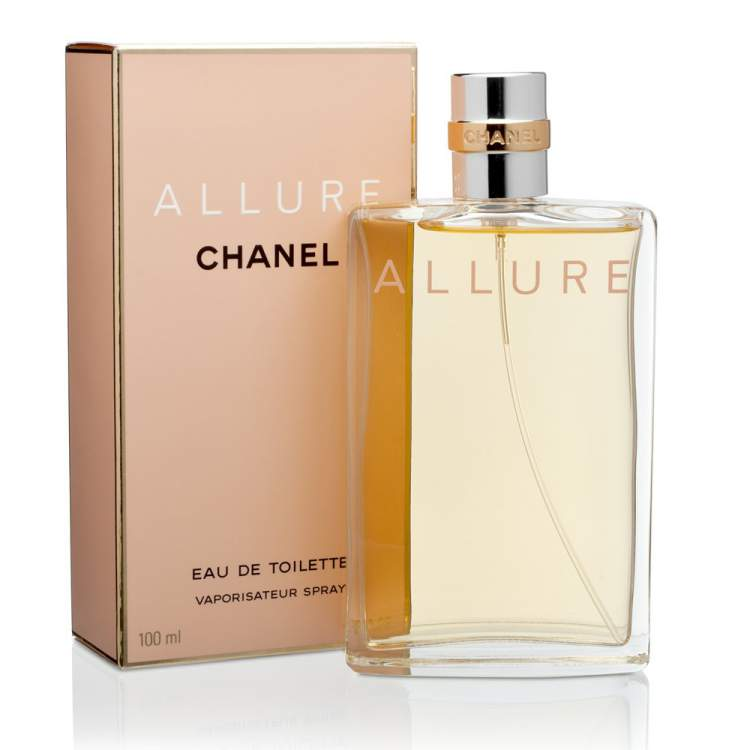 Allure de Chanel é um dos perfumes mais vendidos no mundo