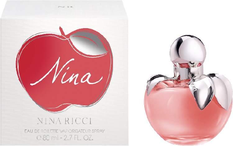 Nina de Nina Ricci é um dos melhores perfumes femininos segundo os homens
