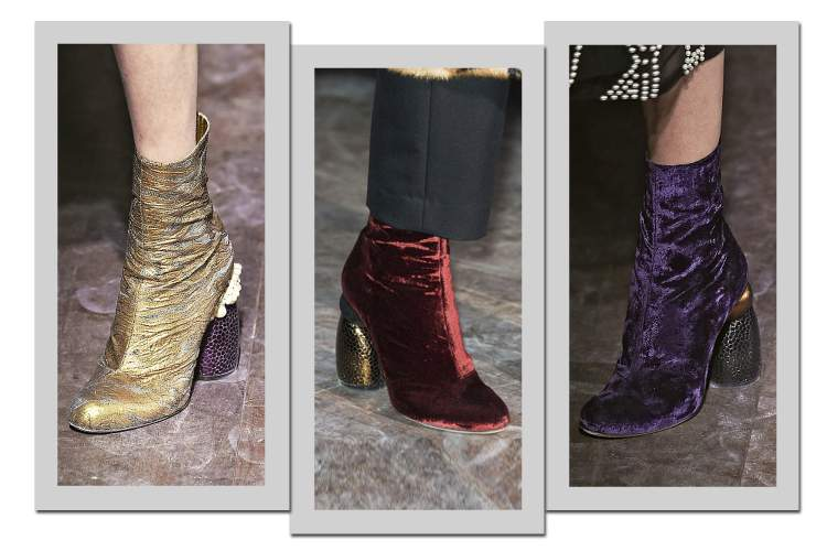 Botas de Camurça entre as tendências da moda inverno 2017