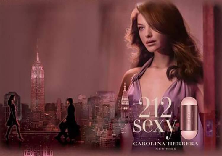 212 Sexy de Carolina Herrera é um dos perfumes que farão você se sentir mais sexy