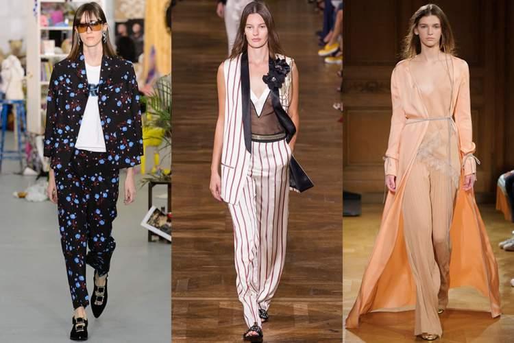 look pijama é uma das principais tendências da moda primavera verão 2018