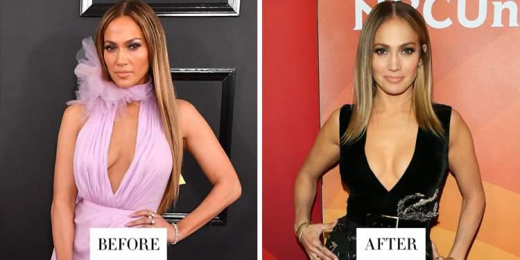 Corte de Jennifer Lopez em 2017