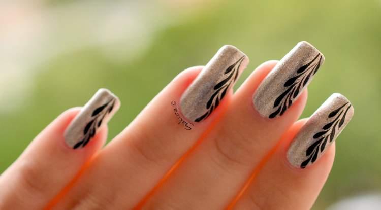 Nail Art para quem não abre mão da elegância e requinte