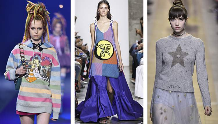 Tendências da moda 2018