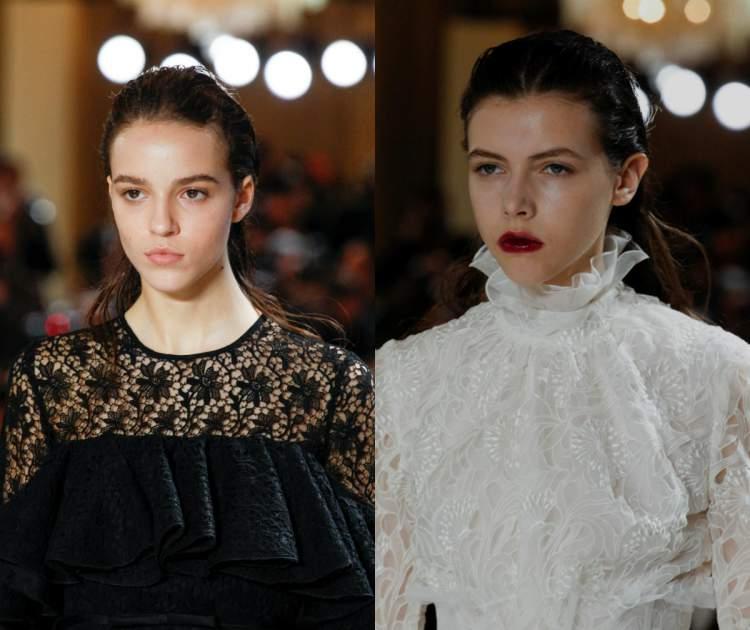 Visual retrô entre as tendências da moda 2018