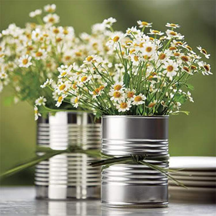 Vaso de lada para decorar uma casa com flores