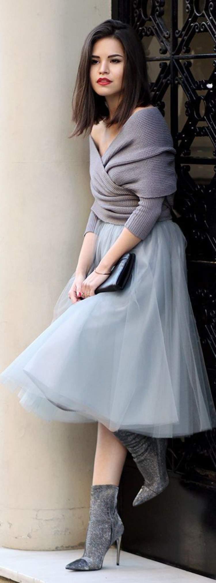 Vestidos de manga longa são a melhor opção para dias mais frescos