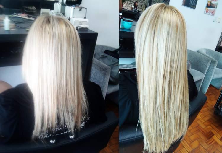 Fazer alongamento é uma maneira de mudar o visual sem cortar o cabelo