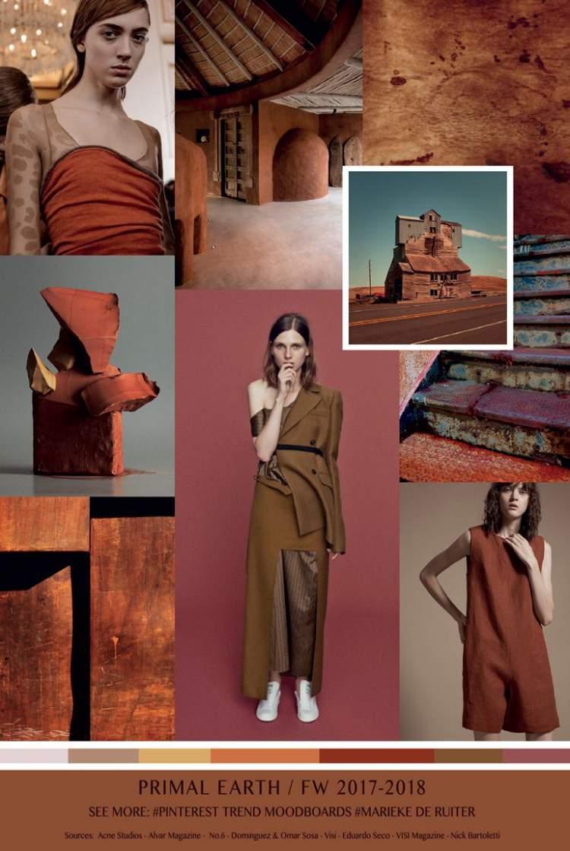 Rusty Art está entre as tendências da moda outono inverno 2018
