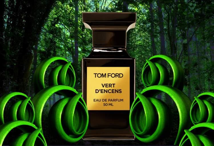 Tom Ford Vert D'Encens é um dos melhores perfumes de 2017