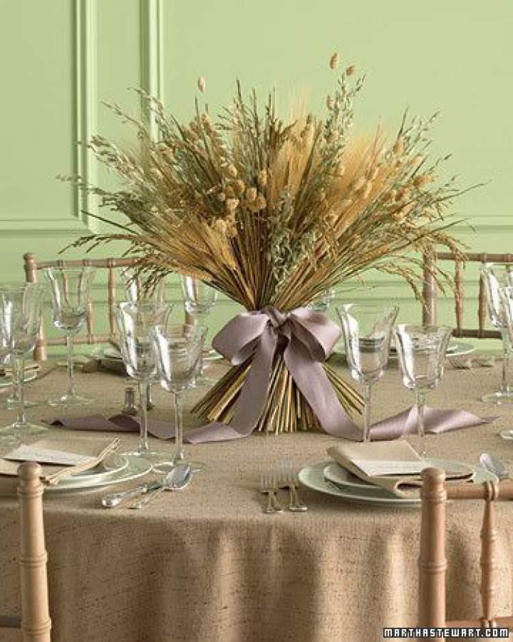 Como decorar a mesa de uma festa de casamento