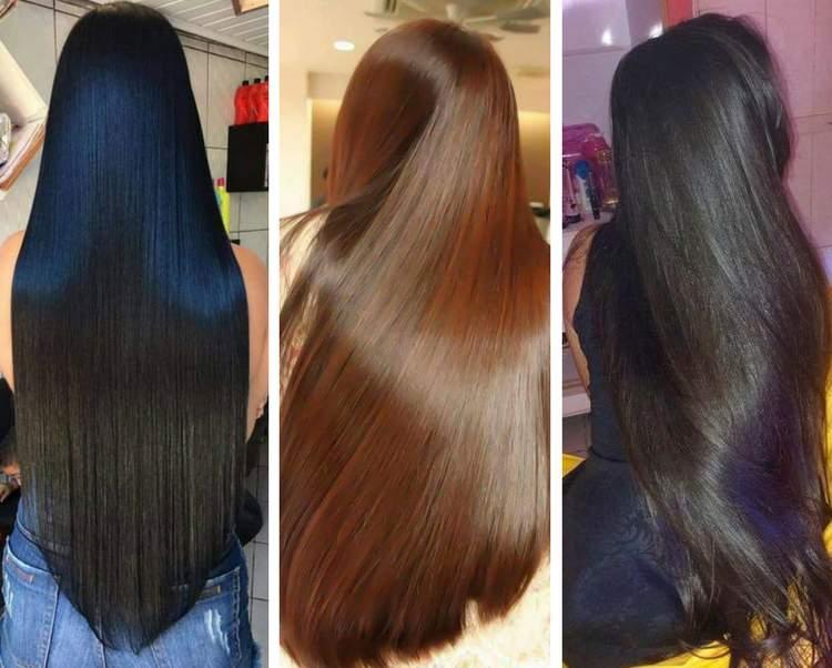 Dicas para manter o cabelo liso sem química, secador ou chapinha