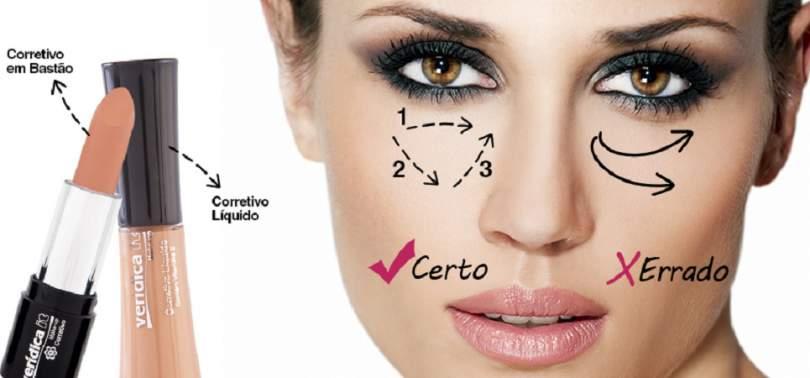 Produtos de maquiagem que ajudam a disfarçar as olheiras
