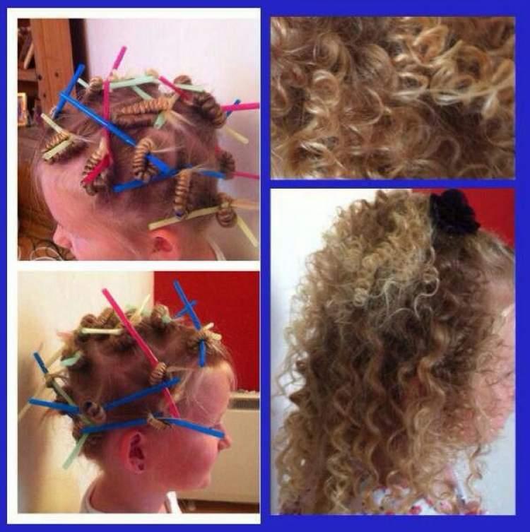 Saiba como usar canudinhos para cachear o cabelo sem danificar os fios