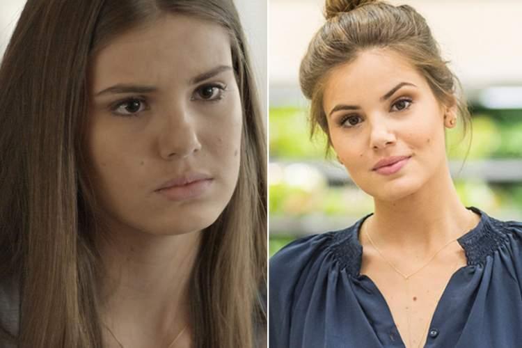 Sobrancelhas da Camila Queiroz - Antes e Depois