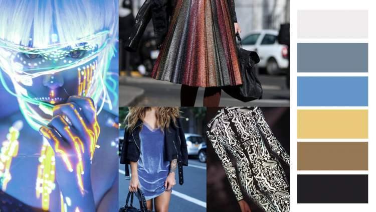 Tema tecnológico é uma das tendências da moda outono inverno 2018