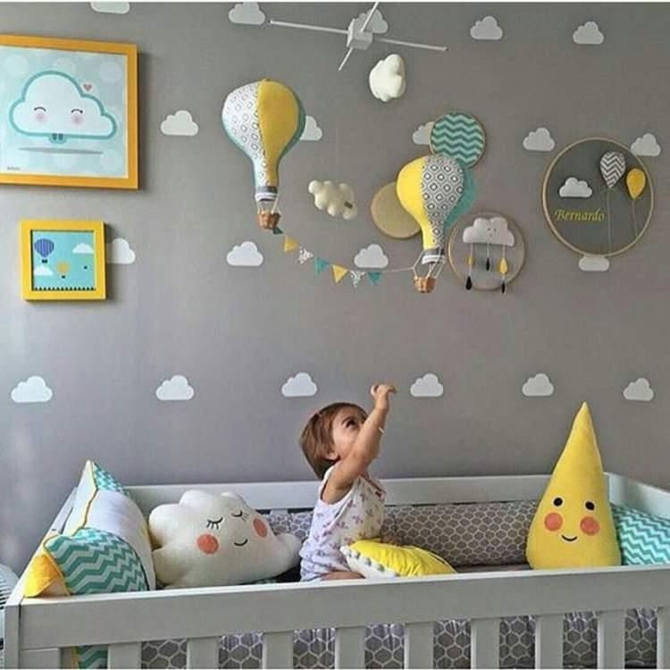 Ideia de decoração do quarto do bebê: 28 ideias lindas para você se inspirar