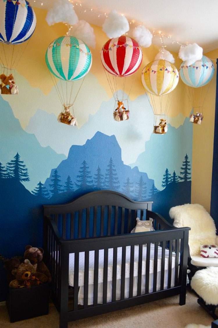 Modelo de decoração do quarto do bebê: 28 ideias lindas para você se inspirar
