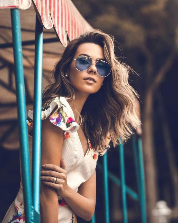 Máxi Óculos Gatinho está na moda