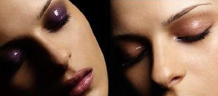 Aprenda usar o gloss para fixar a sombra na maquiagem