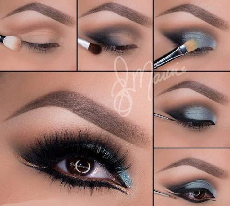 Como fazer maquiagem árabe - Passo a passo