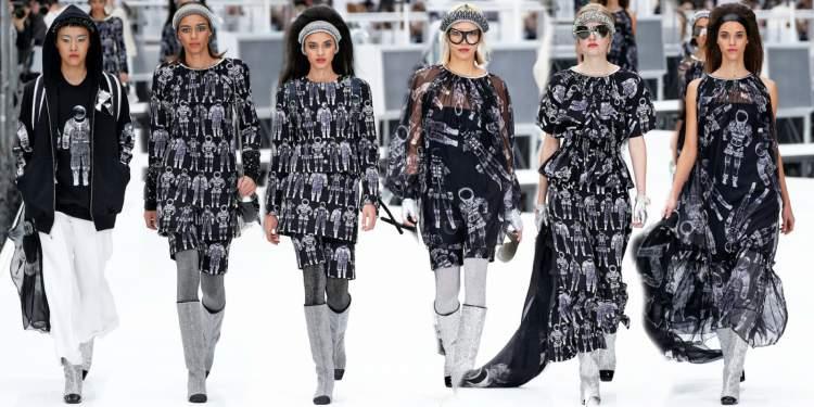Peças com estampas intergalácticas são tendências da moda inverno 2018
