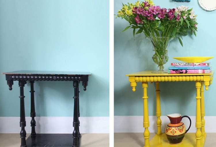 Economize na decoração restaurando os móveis antigos