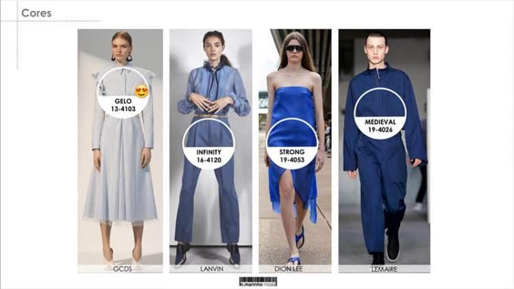 A cor da moda verão 2019