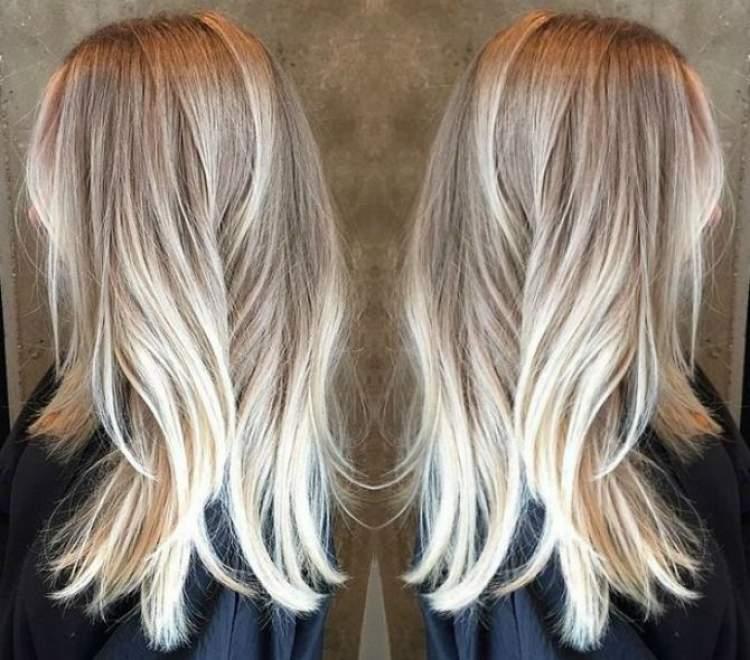 Tendência de cor Ash Blonde para o cabelo no inverno 2018