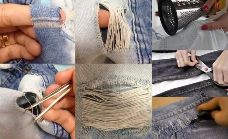 Truque caseiro para deixar o jeans com cara de novo