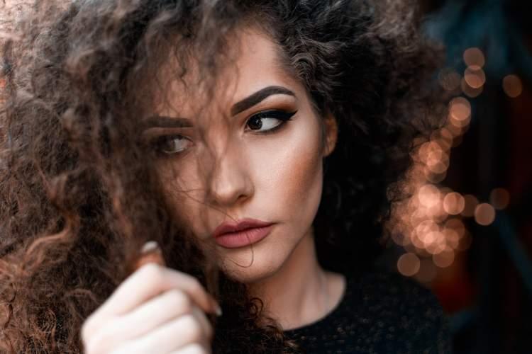 Hidratação para cabelos cacheados com Bepantol líquido