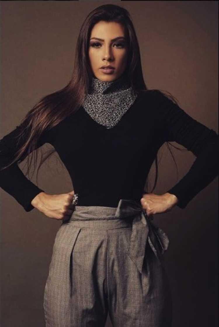 Look de frio com Wendy Tavares