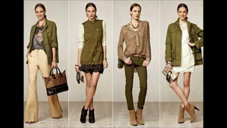 Verde Militar entre os looks mais lindos da moda inverno 2018