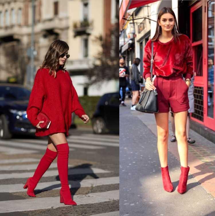 Saiba como usar a bota vermelha e arrasar no look