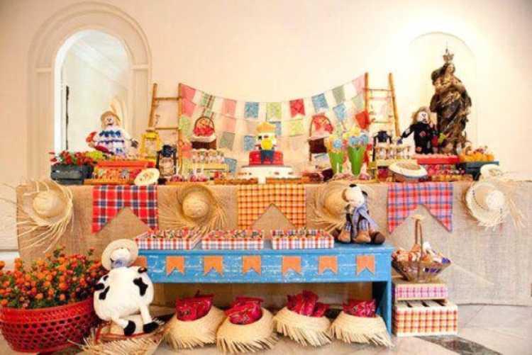 Dicas para fazer uma decoração de festa junina