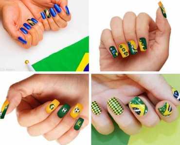 40 ideias de unhas decoradas para Copa do Mundo 1