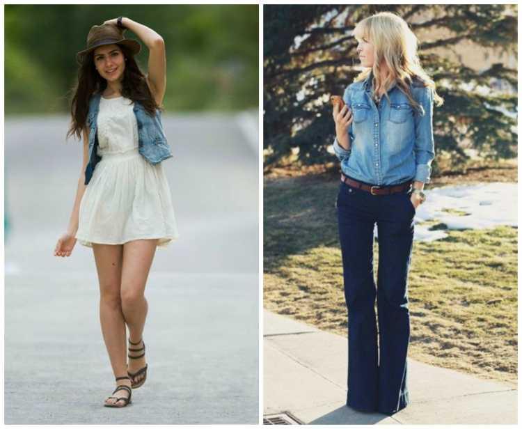 Jeans na composição do look para vaquejada