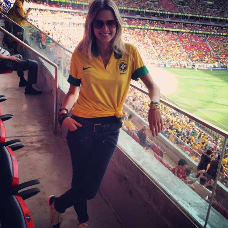 Look para torcer pela seleção na copa do mundo